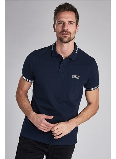 Barbour B.Int. Essential Tipped Polo Yaka Ny39 International Navy Lacivert